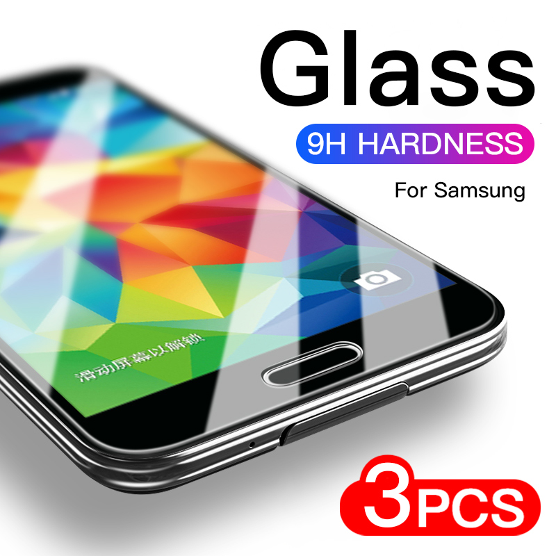 Tempered Glass On For Samsung Galaxy J3 J5 J7 2015 2016 2017 J1 Screen Protector For Samsung J4 J6 J8 2018 Protective Film
