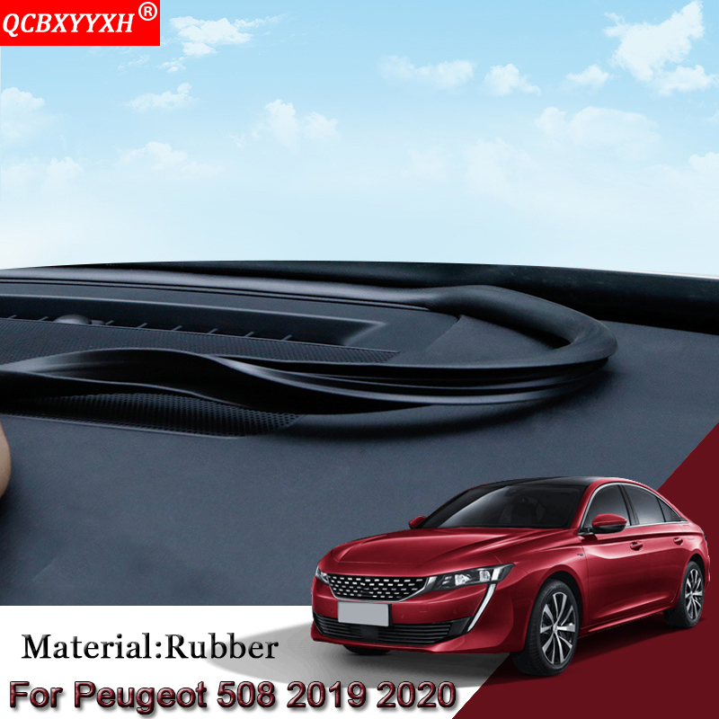 Car Anti Noise Soundproof Dustproof Car Dashboard Windshield Sealing Strips Accessories For Peugeot 208 308 508 2008 3008 5008 Sound & Heat Insulation Cotton     - title=