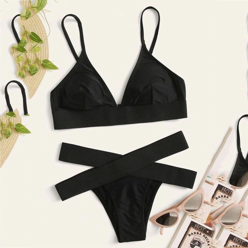 Sexy Print Swimwear Women Bikini Set 2020 New Push Up Biquini Female Swimsuit Brazilian Bathing Suit Bathers Beach Swimming
