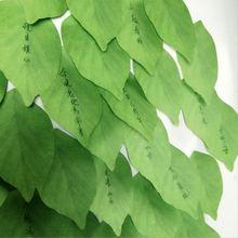 Креативное моделирование лист дерева липкая заметка милые маленькие