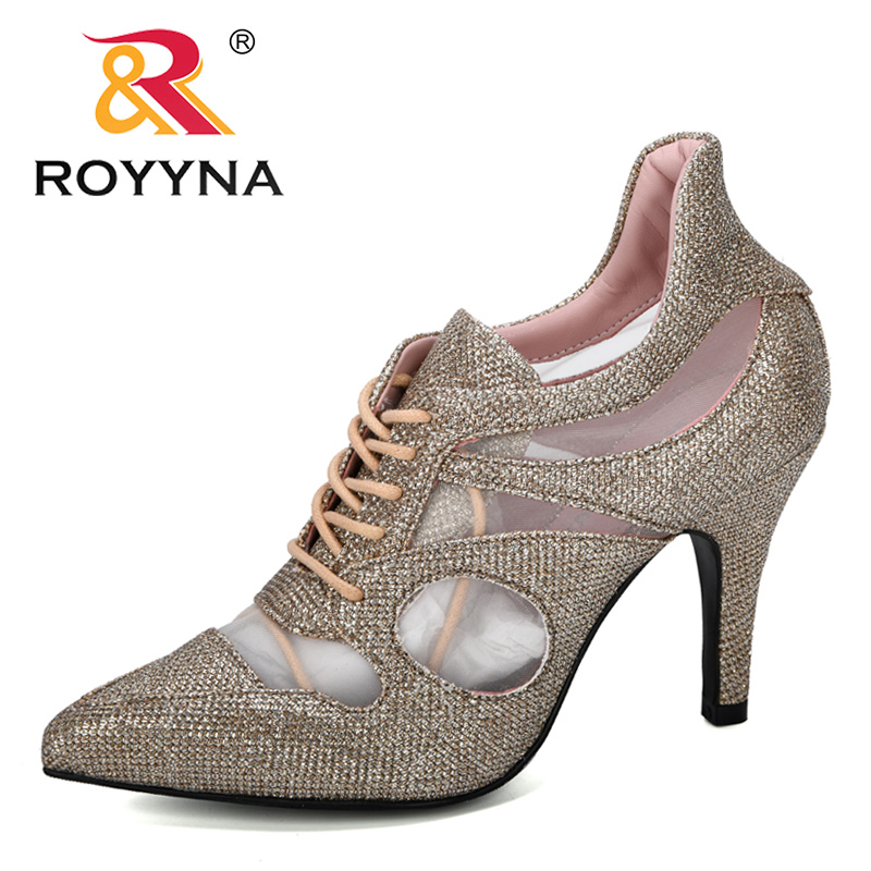 ROYYNA 2019 New Designer Fashion Heels