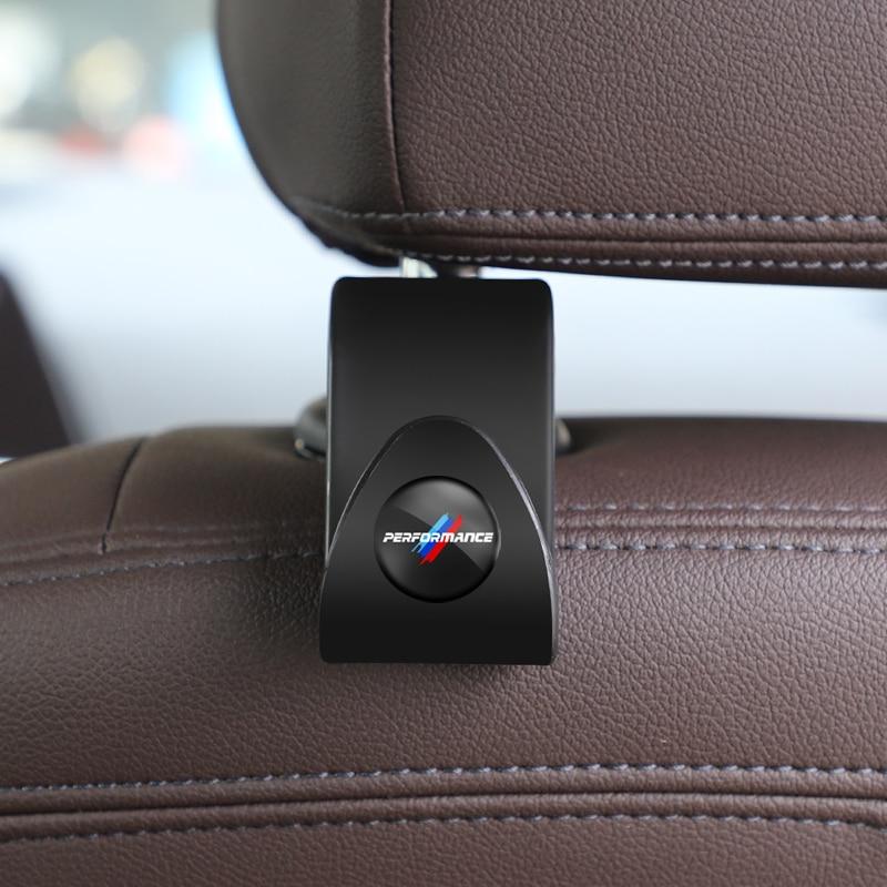 2Pcs Car Seat Back Hooks Universal Auto Interior Accessories For BMW E30 E34 E36 E39 E46 E53 E60 E87 E90 E91 E92 X1 X2 X3 X4 X5