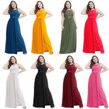 2019 женские платья с открытой спиной Пляжное длинное платье