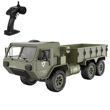 RC Car 1/12 6WD 2.4GHz Military Truck Army RC Truck Off-road RTR Car Remote Control Toy Gift for Adults Kids Boys wpl b 16 b16 1 16 2 4g 6wd 15km h rc military truck off road remote control car rock crawler army climbing trucks boys hobby toy