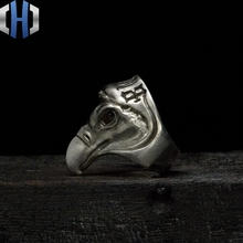 Original Work Handmade Silver 925 Ring Dark