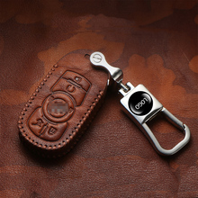 Hight quality Real cowhide key case cover Key protective shell holder For Buick Excelle Encore Enclave Regal GT