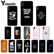 Yinuoda Beer Alcohol Vodka TPU Soft Phone Case Cover for App