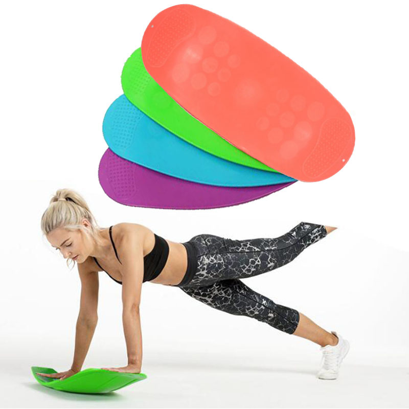 ABS Twisting Balance Board Fitness Equipments Training Balance Pad Sport Fitness Yoga Simple Core Workout Abdominal Muscle