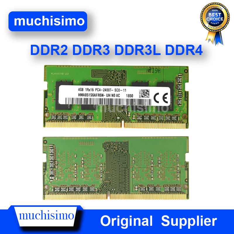 2GB 4GB 8GB 16G PC2 PC3 PC4 DDR2 <font><b>DDR3</b></font> DDR4 667 <font><b>800</b></font> 1066 1333 1600 1866 2133 2400Mhz 6400 8500 10600 Laptop Memory Notebook RAM image