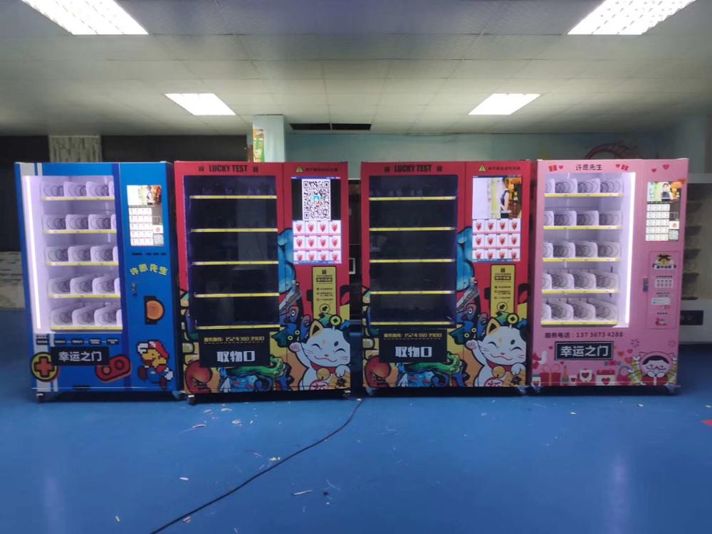 24 Hours Online Self Service Stores Drinks And Snacks Vending Automatic Machine Cabinet With Lift System