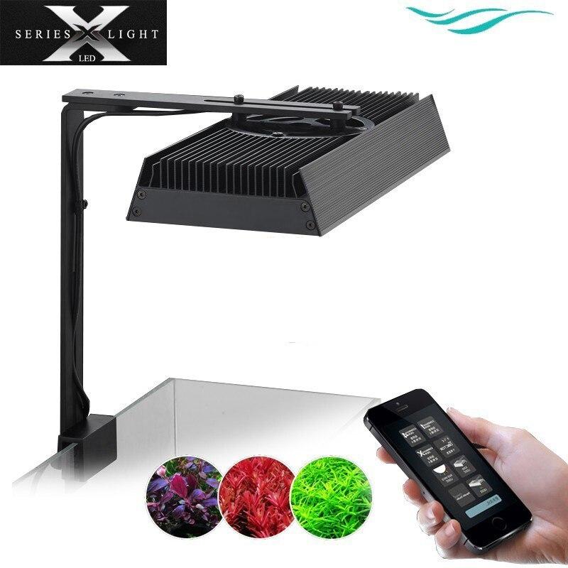 Chihiros X Series RGB Series LED Lighting System Water Plant Grow Sunrise Sunset Bluetooth Smart Control Commander 1