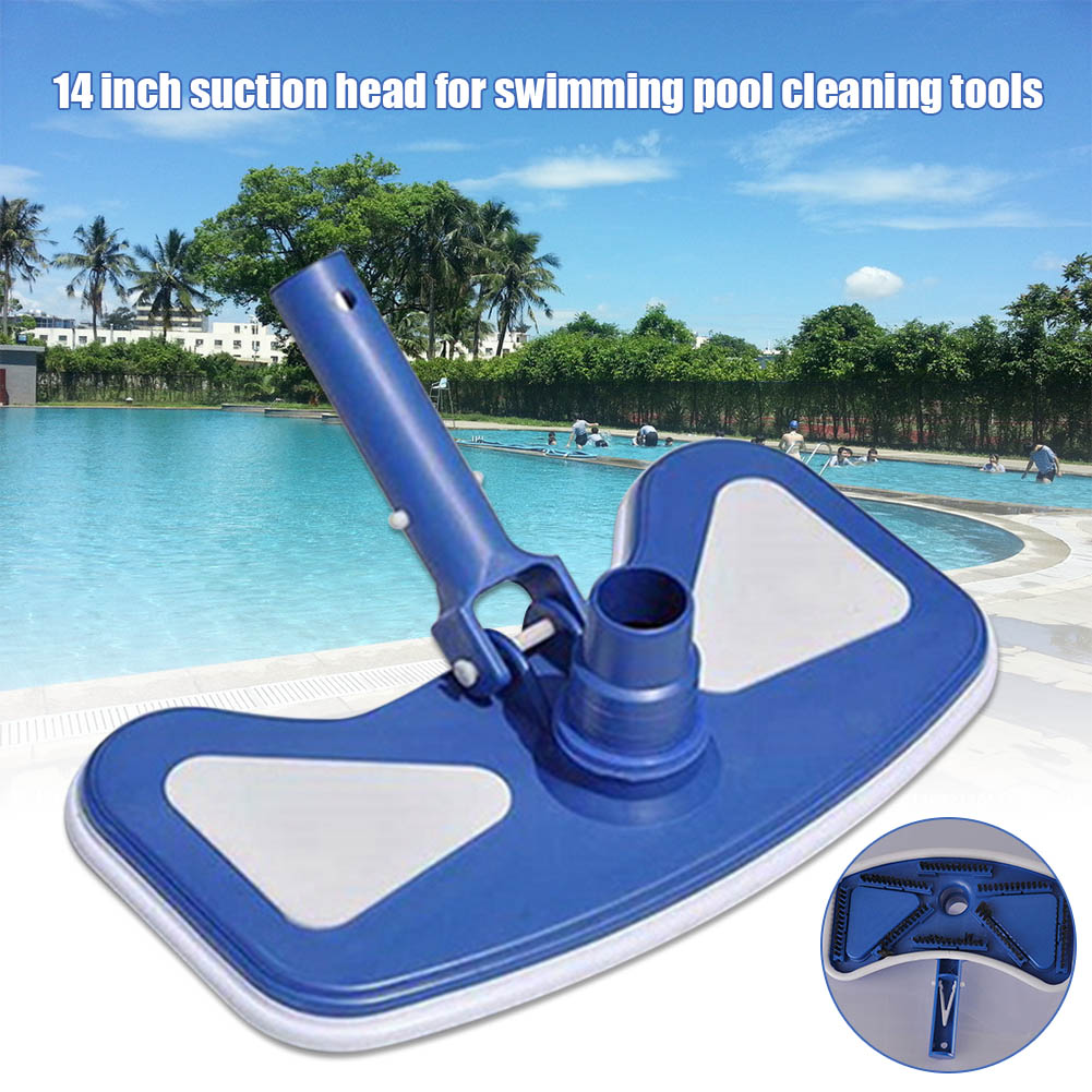 New Weighted Butterfly Vacuum Head With Swivel Hose Connection Remove Debris Cleaning Floors XD88