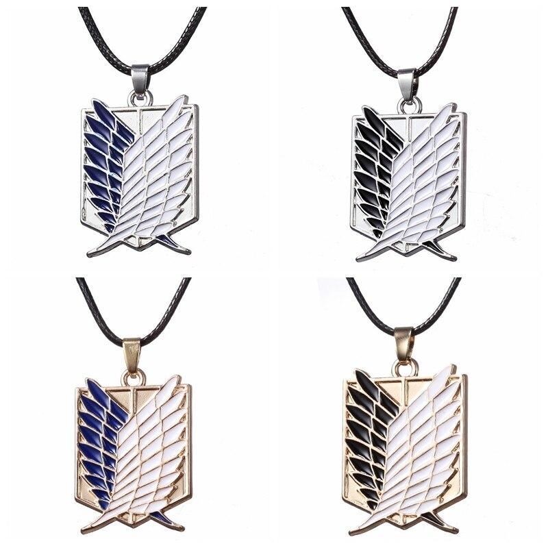 Ожерелье «атака на Титанов», кулон в стиле аниме «Крылья Свободы Эрена разведчика легиона», стационарная гвардия, военная полиция, участвую...
