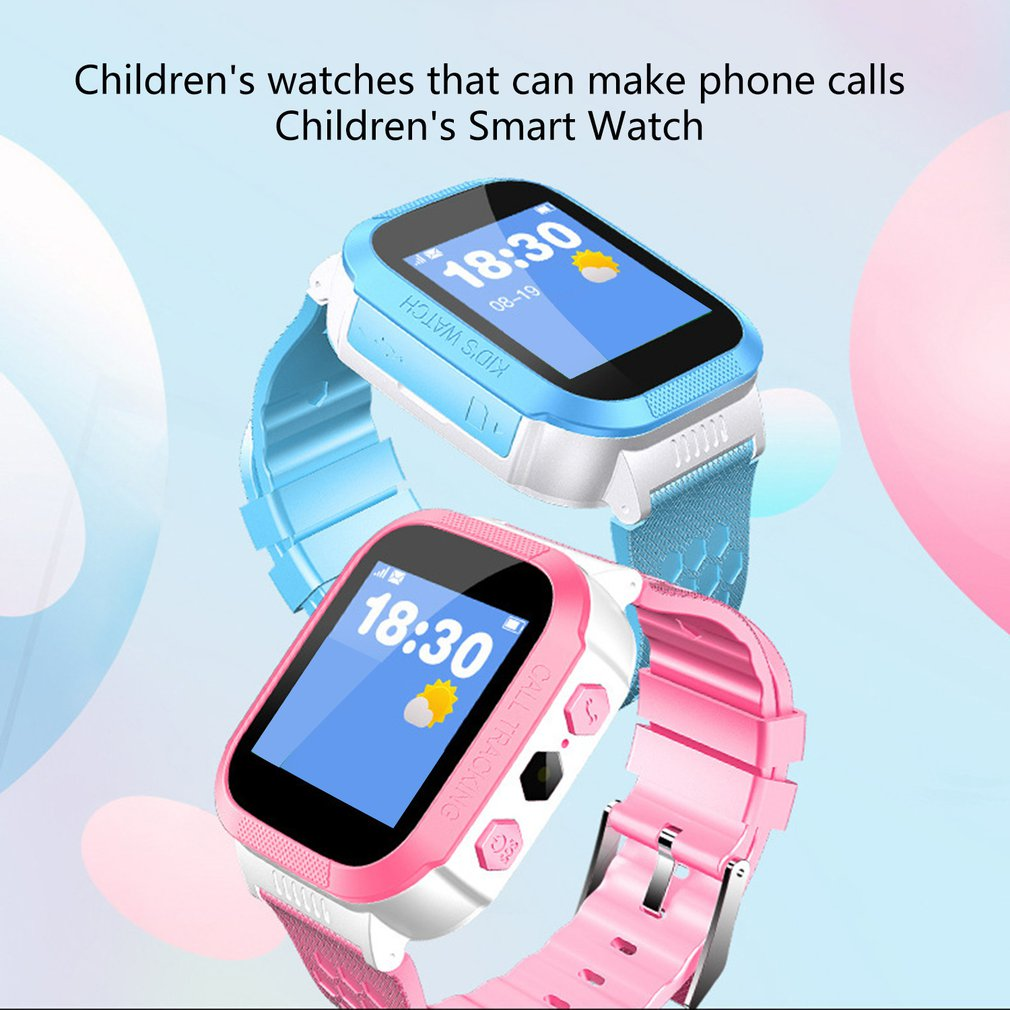 I501 Waterproof Kids Smartwatch Waterproof Lbs Base Station Tracking Positioner S0S Sim Call Smartwatch With Camera