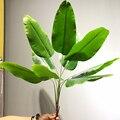 Большие искусственные растения 82 см, тропические банановые деревья, Пальмовые Листья, искусственные растения, ветки, пластиковые зеленые л...