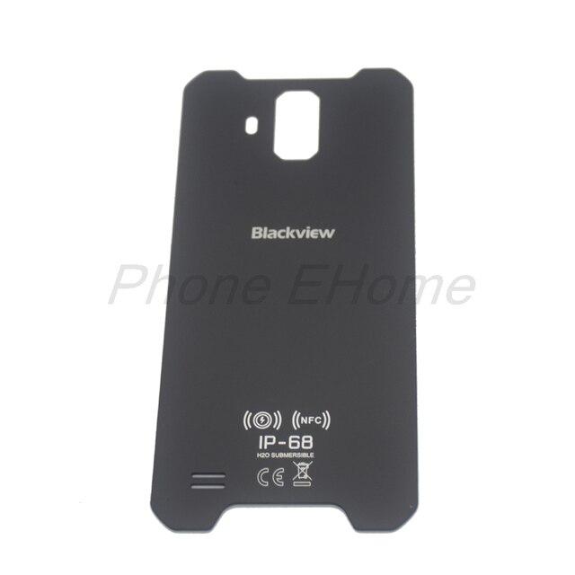 ต้นฉบับ blackview bv9600 แบตเตอรี่กรณีฝาครอบกระจกด้านหลังสำหรับ blackview bv9600 pro โทรศัพท์มือถือ