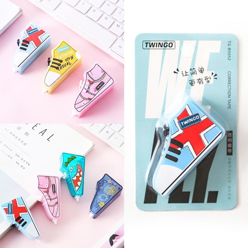 Kawaii Correction Tape Corrective Stationery Roller White Study Biggest-selling Sticker Tools Office G3G9