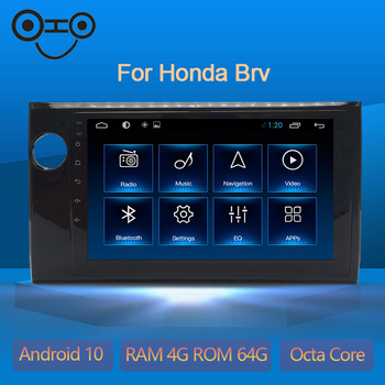 COHO For Honda Brv Navigation Car Multimedia Player Radio Android 10.0 Octa Core 6+128G image