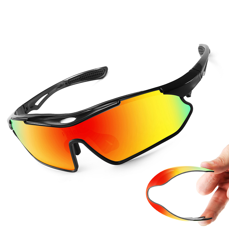 Cycling-Glasses Bicycle Fishing-Eyewear UV400 Polarized Sports Man MTB Driving Hiking