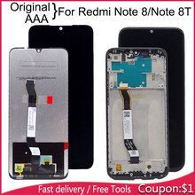 6.3inch For Xiaomi Redmi Note 8 LCD Note8 Display With Touch Screen Assembly 8T