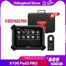 XTOOL X100 PAD2 פרו כרית 2 טוב יותר מ X300 Pro3 DP אוטומטי מפתח מתכנת עם 4th ו 5th Immo עבור ביותר של דגמי מכוניות