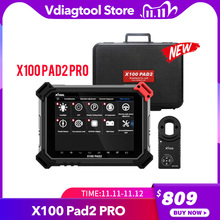 XTOOL X100 PAD2 Pro Pad 2 Better Than X300 Pro3 DP Auto Key Programmer With 4th and 5th Immo for most of the car models