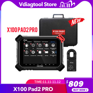 Image 1 - XTOOL X100 PAD2 Pro Pad 2 Better Than X300 Pro3 DP Auto Key Programmer With 4th and 5th Immo for most of the car models