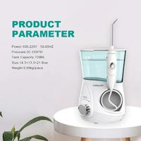Waterpulse V600 Dental Flossers Electric Portable Water Flosser 700ML Oral Hygiene for Teeth Whitening