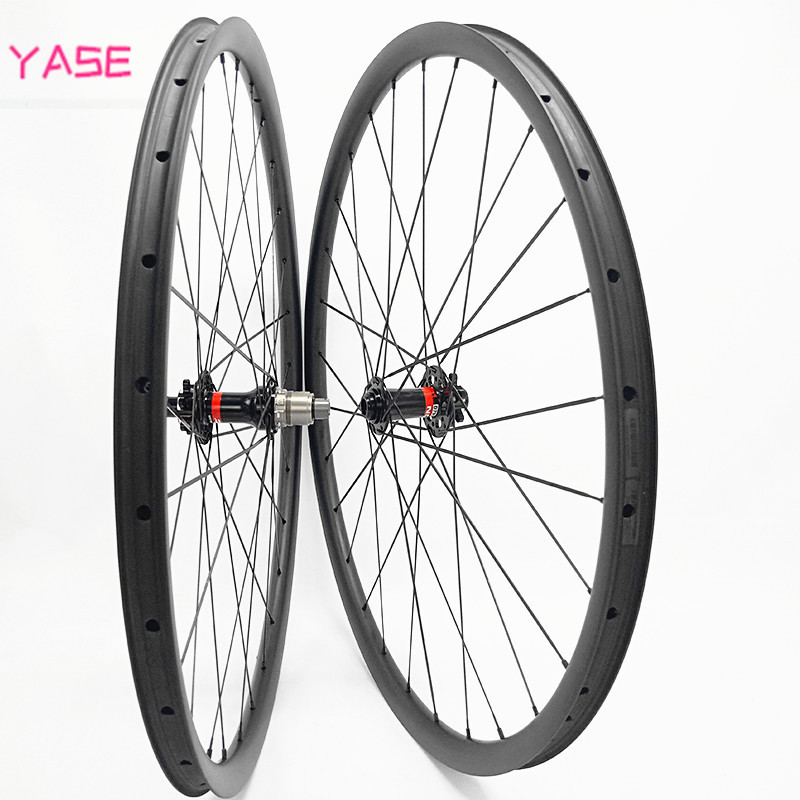 29er 27x25mm symmetry mtb bicycles carbon wheelset 100x15 142x12mm tubeless disc wheelset NOVATEC 791 792 bicicleta aro 29
