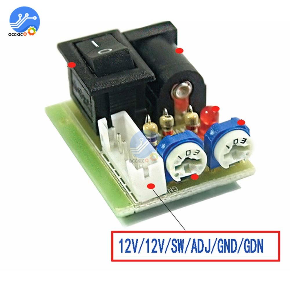 Mini CCFL Inverter Tester LCD TV Laptop Screen Repair Backlight Lamp Test 12V Toggle Switch Test LCD Inverter LCD Tube