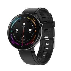 DTNO. I nr 1 DT18 inteligentny zegarek wykrywania ekg wymienne tarcze IP68 wodoodporna 1.3 w pełni z okrągłych ekran hd Smartwatch fitness track|Inteligentne zegarki|   -