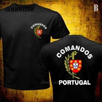 Мужская футболка, португальский армейский спецназ, коммандос, Португалия, военная футболка