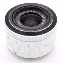 Beyaz Yeni i Fn 20 50mm f/3.5 5.6 ED lens Samsung NX1000 NX2000 NX3000 NX1 NX300 NX500 kamera