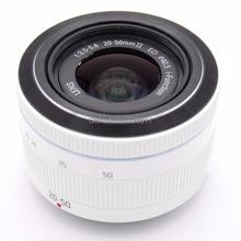 الأبيض جديد i Fn 20 50 مللي متر f/3.5 5.6 إد عدسة لسامسونج NX1000 NX2000 NX3000 NX1 NX300 NX500 كاميرا