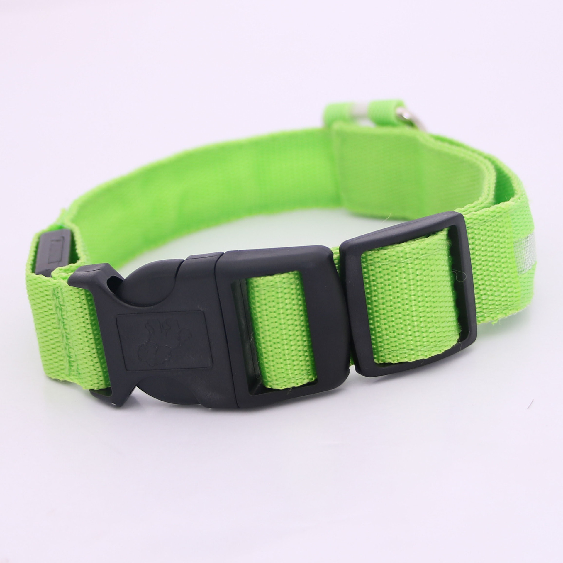 Pet Supplies Dog Night Safe Dog Cat Bandana Anti-Lost LED Luminous Collar Neck Ring