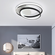 Minimalism Modern Led chandeliers ceiling For Bed room Balcony studyroom plafondlamp Black+White  Art Led chandelier lighting minimalism modern led ceiling chandeliers plafondlamp iron round led chandelier lighting for bedroom studyroom led light