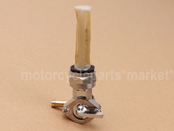 Motorcycle Gas Fuel Tank Valve Petcock Switch Left Outlet For Harley Sportster Big Twin 1975-Up 13/16