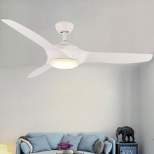 купить 52 inch Modern Ceiling fans light With remote control Bedroom Fan Lamp Living Room Dining Kids Study Office Ceiling Fan Lamps дешево
