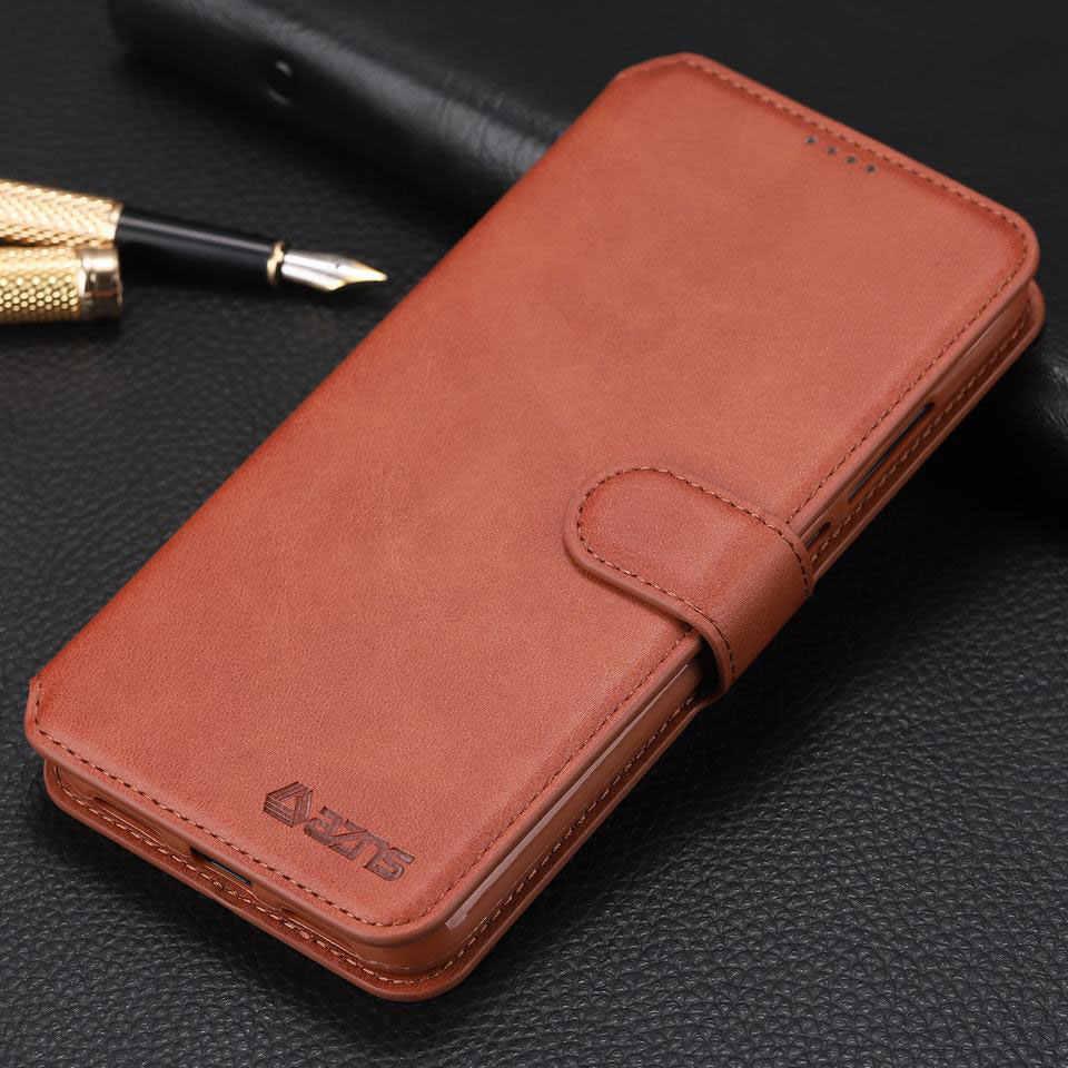 Чехол-кошелек для Xiaomi Redmi Note 7, Роскошный кожаный флип-чехол для Redmi 6A Note 6 Pro, противоударный винтажный корпус для телефона