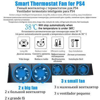 Base de soporte para Sony PS Play Station 4, Accesorios de refrigeración...