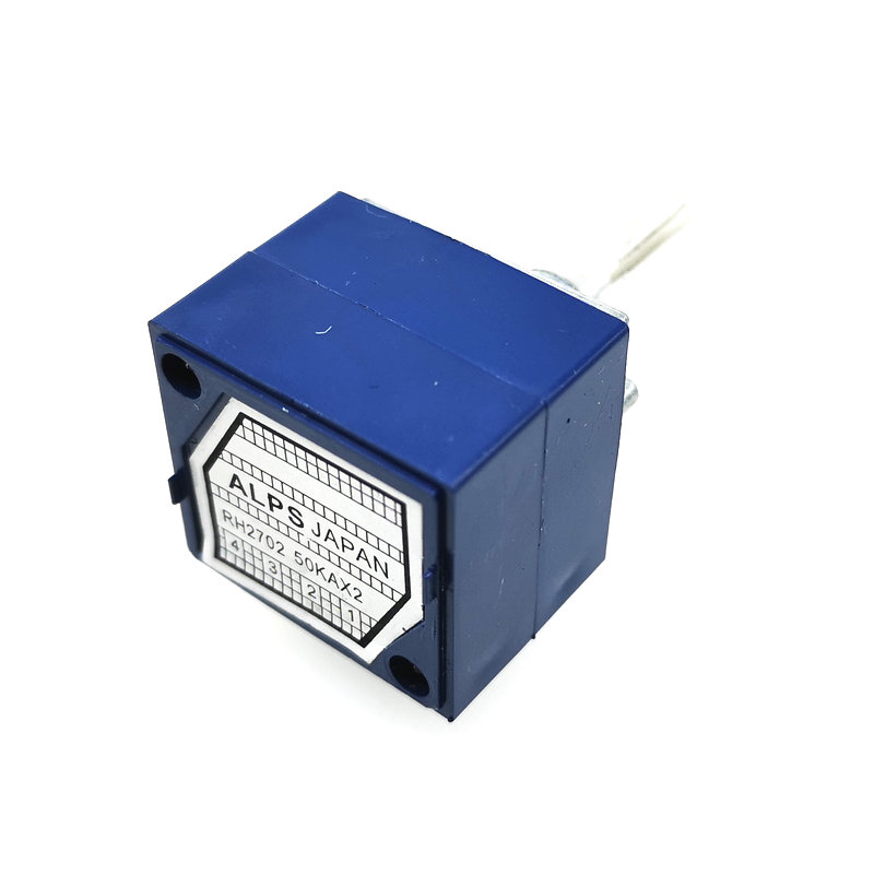 Image 2 - 1PCS RH2702 Dual unit Rotary Potentiometer  50K 100K 250K DIP8 ALPS-in Potentiometers from Electronic Components & Supplies