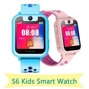 Image 2 - ילדים חכם שעון ילד ילד SmartWatch לילדים SOS שיחת מיקום Finder מכשיר מצלמה איתור גשש אנטי איבד צג