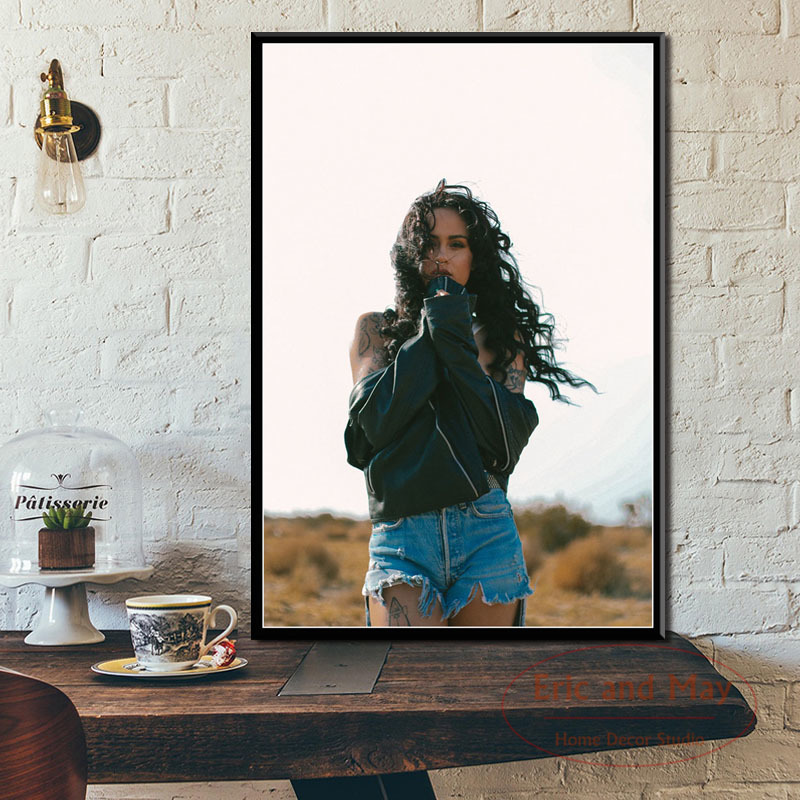 Kehlani Pop Music Singer Posters And Prints Canvas Painting Wall Pictures For Living Room Nordic Decoration Home Decor Tableau