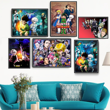 HD Print Painting Home Decor Hunter X Hunter Classic Japanese Anime Canvas Poster Pictures Modern for Living Room портмоне wenger canvas hunter