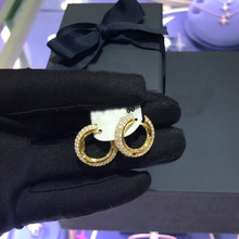 UMGODLY wysokiej jakości miedź stadnina kolczyk betonowa czarna cyrkonia proste kolczyki kobiety moda Party biżuteria prezent