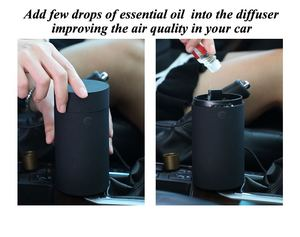 SHODA автомобильный диффузор эфирное масло мини USB Ароматерапия Автомобильный увлажнитель