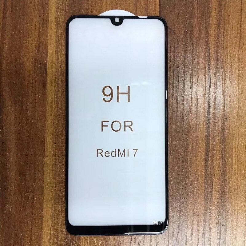 Redmi 7 7A Real 3D Curved Full Glue Glass Film For Redmi Note 7 6 5 Pro 6A Note 4x Redmi 5 Plus Redmi 4X Screen Protector(China)