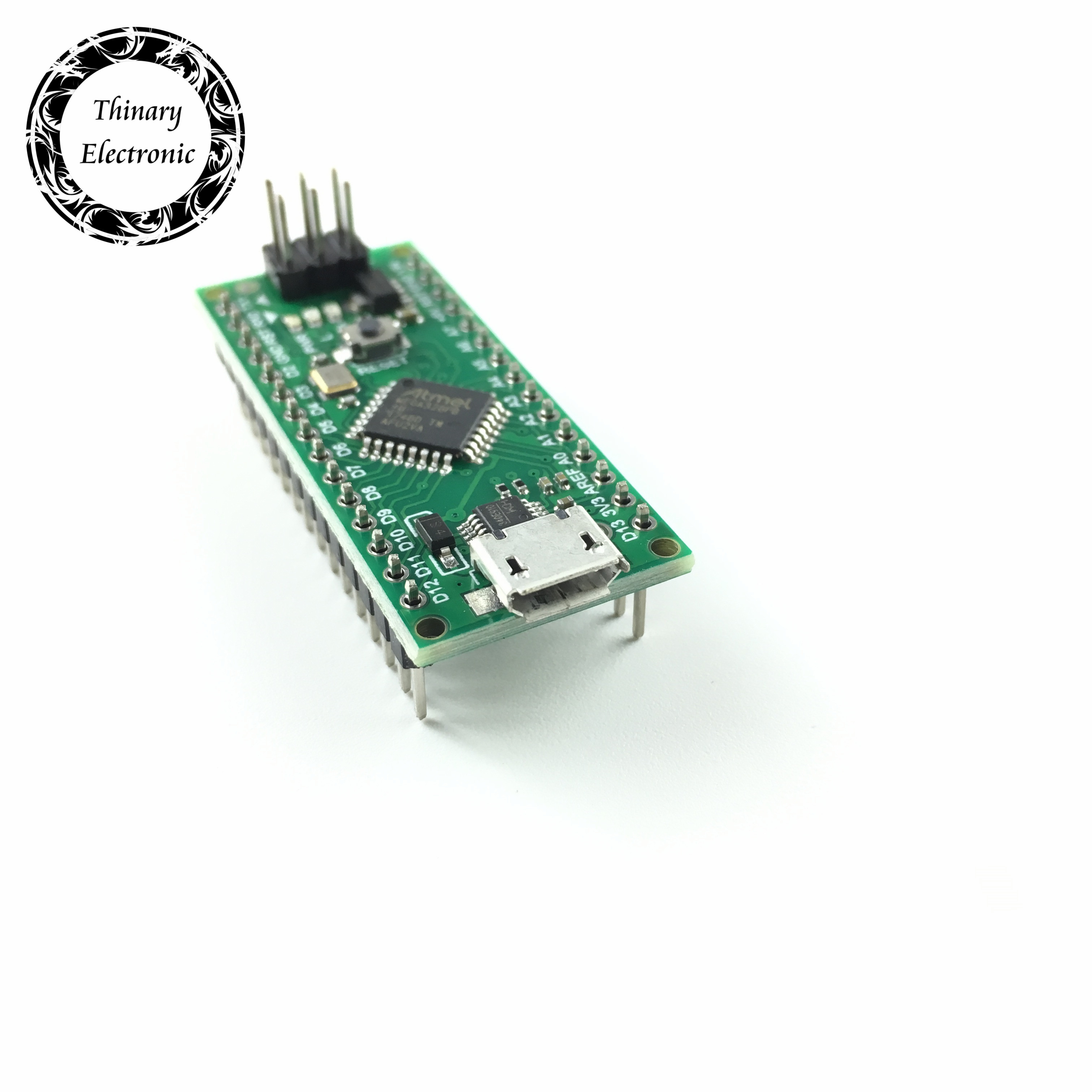 Image 2 - 100pcs Nano 3.0 controller compatible with for arduino compatible nano Atmega328 Series CH340 USB driver NO CABLE Atmega328PB-in Integrated Circuits from Electronic Components & Supplies