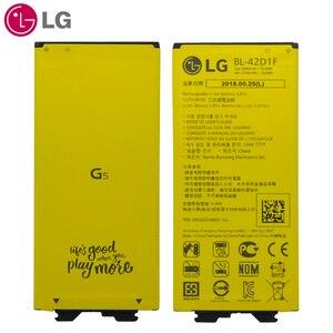Image 5 - LG המקורי טלפון סוללה BL 42D1F החלפה עבור LG G5 VS987 US992 H820 H830 H840 H850 H860 H868 LS992 F700 2700mAh סוללות