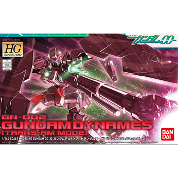 BANDAI HG 1/144 00-32 TRANS-AM GN-002 Dynames Gundam Action Chart Out of Print Rare Spot Kids Assembled Toy Gifts 2
